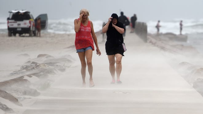 Nicholas hits Texas coast, but weakens in strength; could still bring 'life-threatening' flash flooding in the South