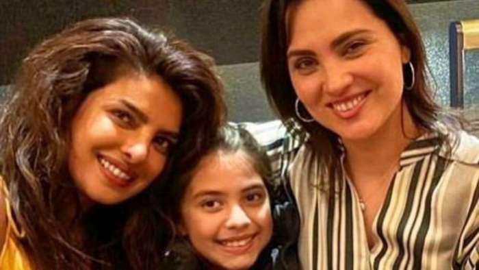 Priyanka Chopra celebrates 21 years of friendship with Lara Dutta in London, shares photo with latter's daughter Saira