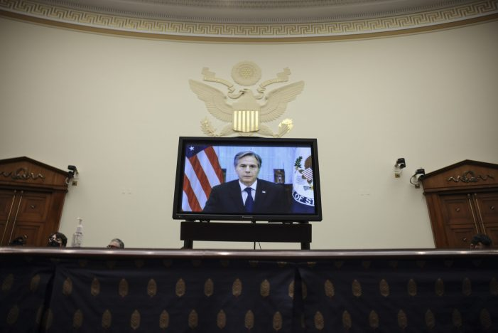 Secretary of State Blinken calls Taliban 'the de facto government of Afghanistan'