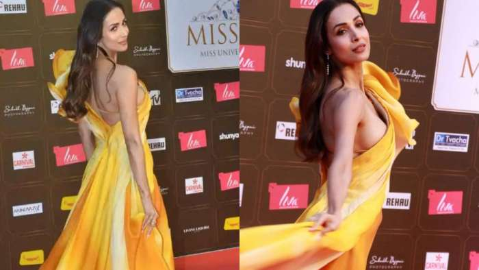 When Malaika Arora's 'oops moment' in thigh-high slit gown was caught on camera