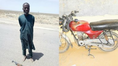 Photo of Abubakar Shekau's strongman surrenders to Nigerian Army in Bama