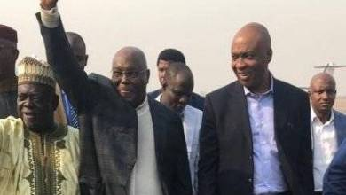 Photo of PHOTOS: Atiku Returns To Nigeria After First US Visit In 13 Years