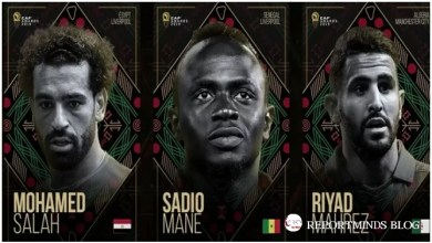 Photo of BREAKING: Salah, Mane & Mahrez are the Top 3 finalists for African Player of the Year
