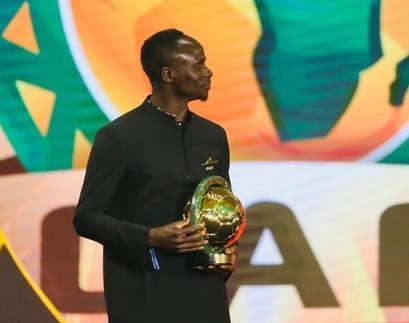 BREAKING: Sadio Mane wins African Player of the Year 2019 - A person holding a sign - Umuahia South