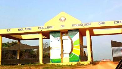 Photo of THE TRUE STATE OF AFFAIRS OF TAI SOLARIN COLLEGE OF  EDUCATION  By ADEFULU, GOVERNING COUNCIL CHAIR