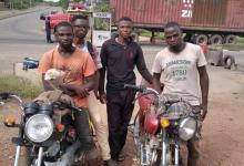 Photo of Covid 19 Restrictions:  NSCDC Arrests Four In Abeokuta For Riding Motorcycle From Minna