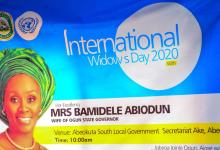 Photo of Int'l Widows' Day: Ogun First Lady reaffirms support for Widows