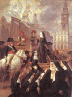 blažena Marija Natalija od svetega Ludvika Vanot in tovarišice - device, redovnice in mučenke