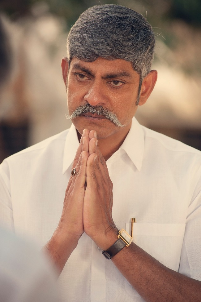 First Look: Jagapathi Babu As YS Raja Reddy