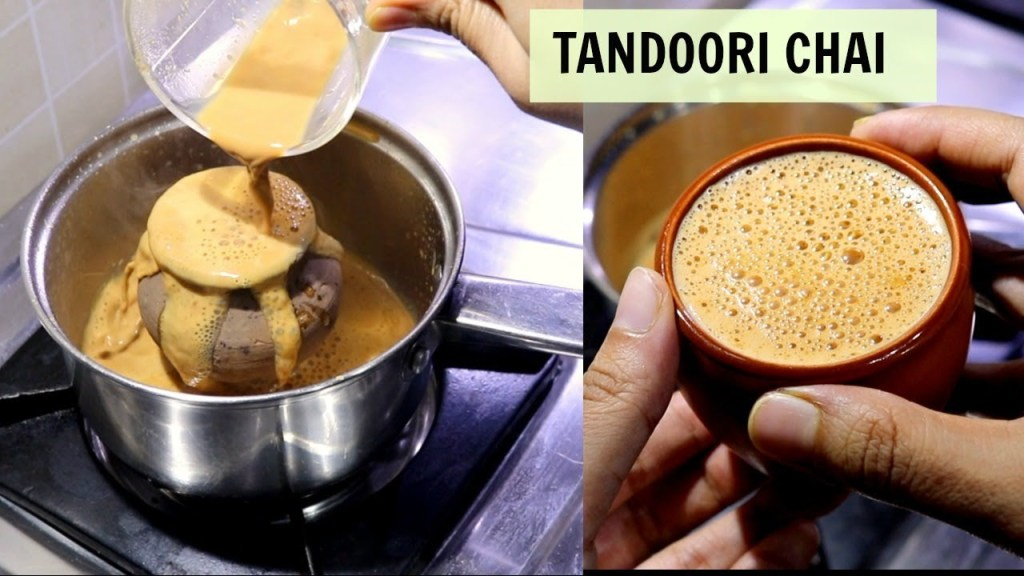 Tandoori Chai, Smoky Flavored Tea