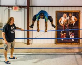 All Pro wrestling school in Douglasville, Georgia