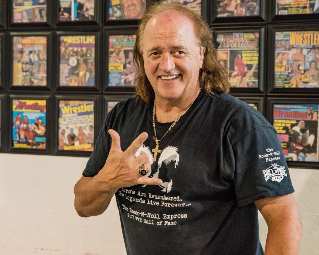Robert Gibson at Douglasville Wrestling School