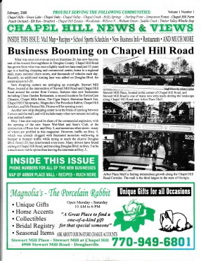 Chapel Hill News & Views first issue