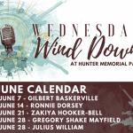 Wednesday WindDown - At Hunter Memorial Park