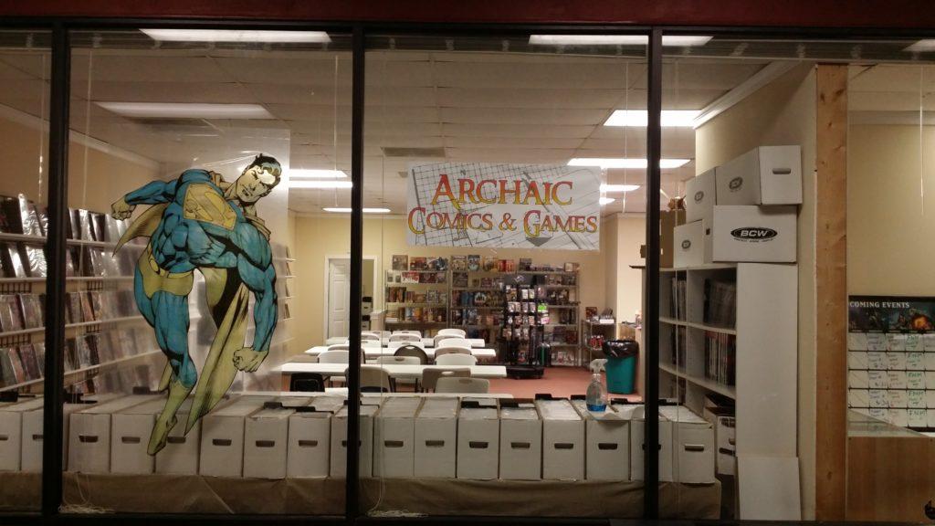 Archaic Comics & Games