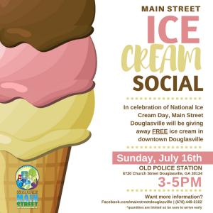Main Street Ice Cream Social