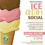 Main Street Ice Cream Social