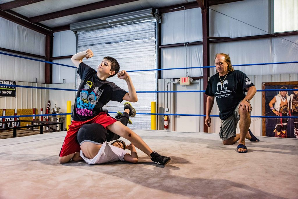 Robert Gibson WWE Hall of Fame owns Douglasville Wrestling School