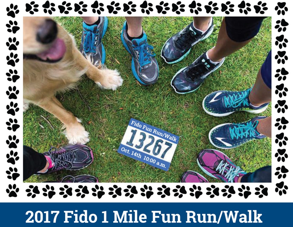 Fido 1-mile Fun Run/Walk