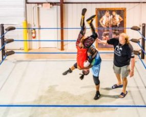 All Pro Wrestling school in Douglasville, Georgia