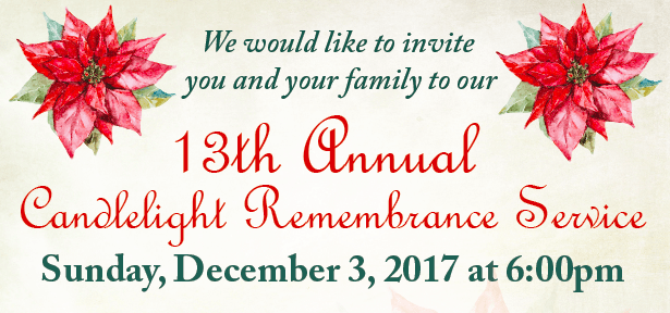 13th Annual Candlelight Remembrance Service