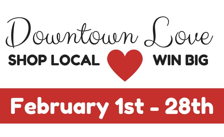 Main Street launches Downtown Love promotion