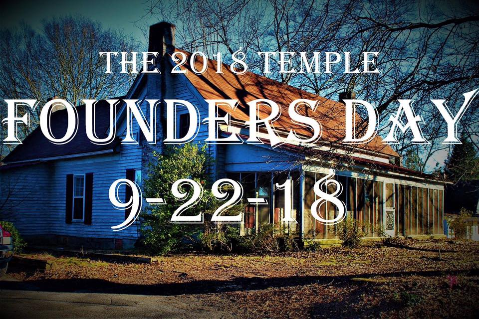 Temple founders day to be held on september 22 news views temple founders day m4hsunfo