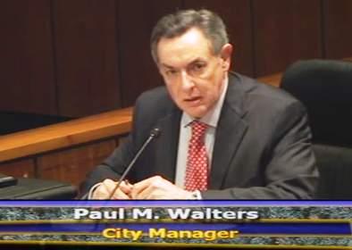 Santa Ana City Manager Paul Walters