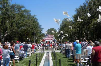 Fairhaven Memorial Day, White Dove Release