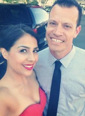 David Benavides and his girlfriend