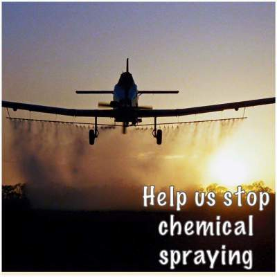 Stop the spraying