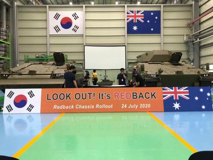 Hanwha-to-send-prototypes-of -Redback-armored-vehicle-to-Australia