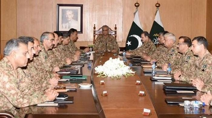 Pakistan Army vows to thwart Indian designs in corps commanders meeting