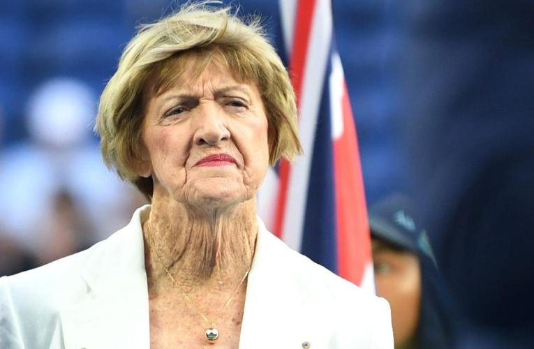 Tennis nice Margaret Court says she wasn't invited to Australian Open