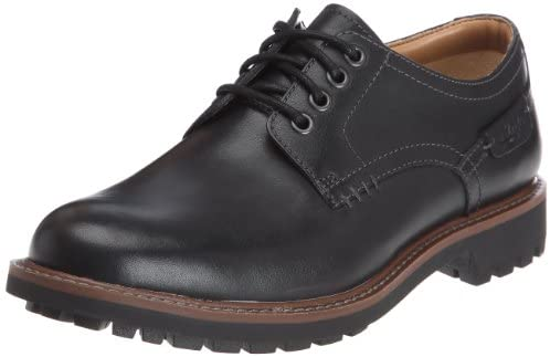Clarks Montacute Hall, Mens Lace-up Flats