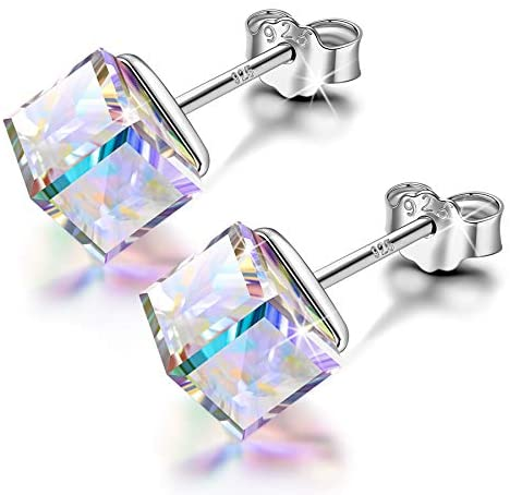 Alex Perry Earrings Gifts for Women, Kaleidoscope Series Stud Earrings Presents for Girls, 925 Sterling Silver, Crystals from Austria, Valentine's Day Birthday Gifts for Mum Sister Her Friends Wife