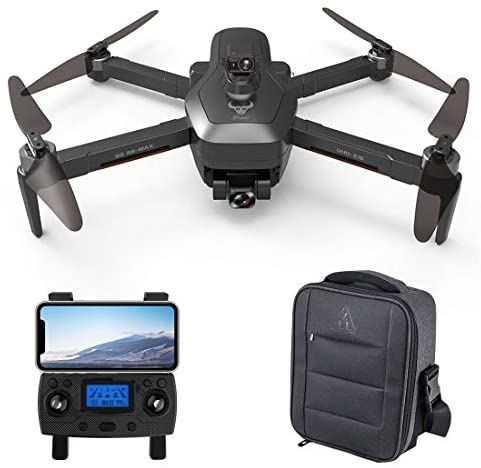 Leic Folding Photography Drone SG906 MAX 5G WIFI 4K HD Aerial Three Axis Anti-shake Gimbal GPS Follow Finger Gestures Drone with Storage Bag