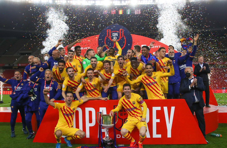Messi fires Barca to win Copa del Rey over Athletic Bilbao