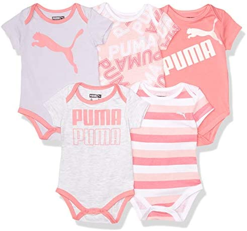PUMA Baby Girls' Coverall Footie