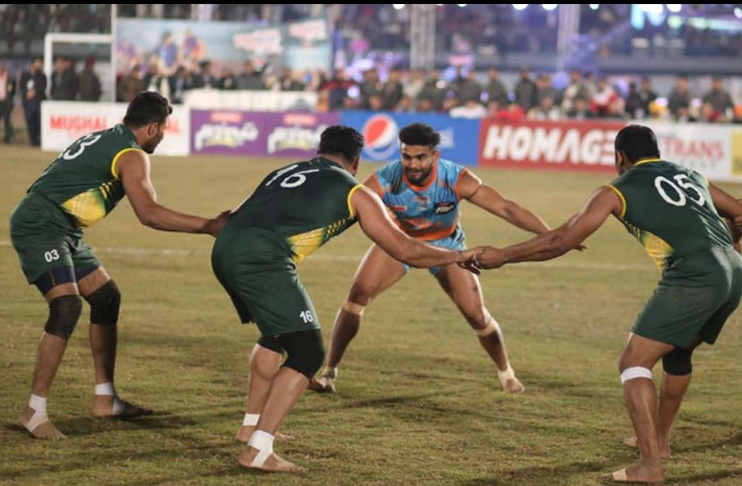 Pak-India Kabaddi series to be held in November
