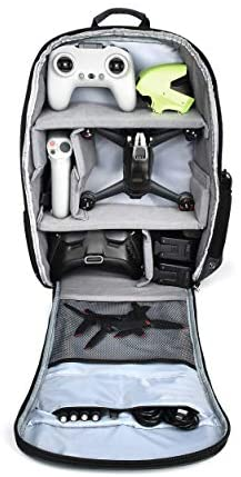 STARTRC Backpack for DJI FPV Combo, Waterproof Shockproof Shoulder Bag Case for DJI FPV Racing Drone,Goggles V2,Remote Controller 2,Motion Controller,Battery and Accessories
