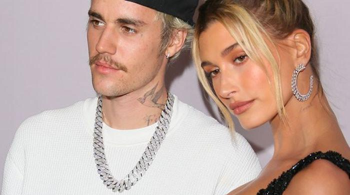 Justin Bieber's biggest fan Hailey Baldwin promotes Justice World Tour