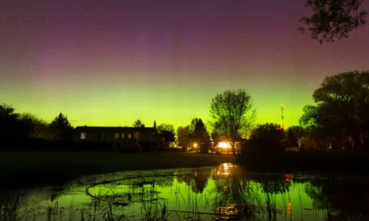 Look up: the northern lights might be out tonight | CBC News