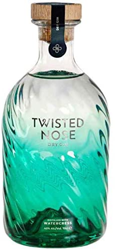 Twisted Nose Premium Dry Gin – World Gin Award Winner – 70cl Gin Bottle