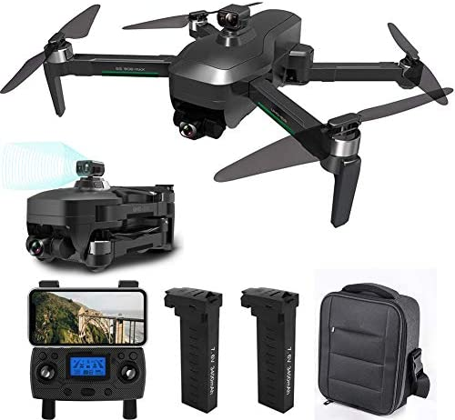 GPS Drone with 4K UHD Camera for Adults, Foldable FPV Quadcopter with Brushless Motor, Intelligent obstacle avoidance, Follow Me, 26 Minutes Flight Time, 1200m Control Range