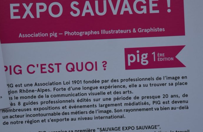SAUVAGE EXPO SAUVAGE ! @PIG