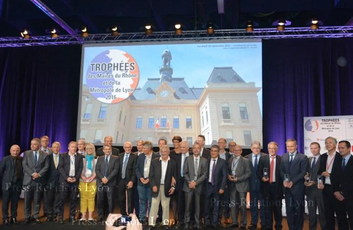 TROPHEES des maires du Rhône et de la Métropole de Lyon 2016 – vendredi 30 septembre