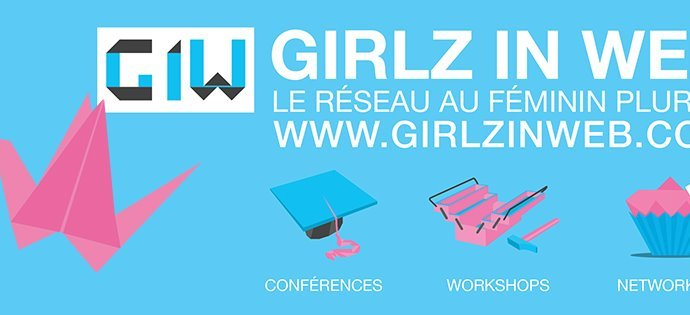 Girlz in Web Lyon event