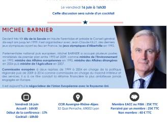 Dialogue sur l'Europe et ses Enjeux : conférence animée par Michel BARNIER