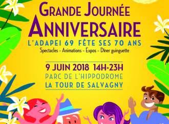 Adapei 69 fête ses 70 ans ce samedi 9 juin